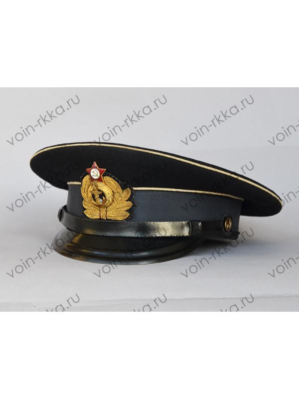 Фуражка офицера ВМФ СССР 1952г. выпуска (оригинал)