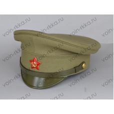 Фуражка походная х/б командира Красной Армии обр.1918-1922гг. (копия)