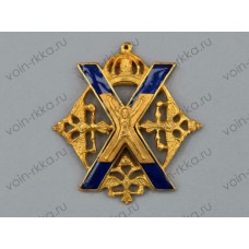 Знак Л.-гв. Преображенского полка Русской Императорской Армии (копия)
