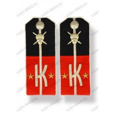 Погоны подпоручика ударного полка генерала Корнилова